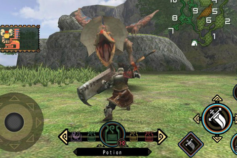 Monster Hunter Freedom Unite is now out on the App store ...