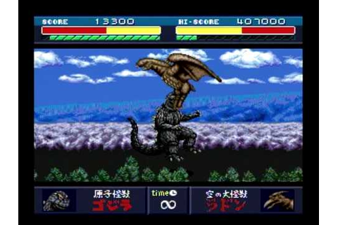 Godzilla: Battle Legends - Godzilla vs Rodan (Match 2 ...