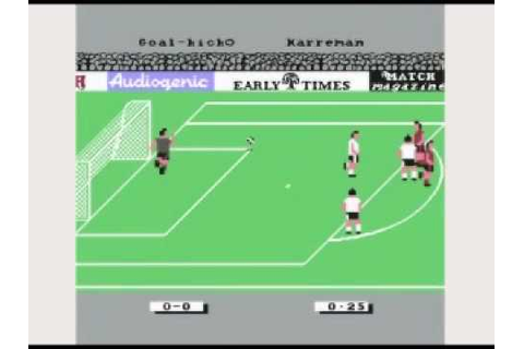 Emlyn Hughes International Soccer - Commodore C64 - YouTube