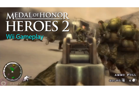 Medal of Honor - Heroes 2 (Wii) Mission 1 (Beach) HD - YouTube