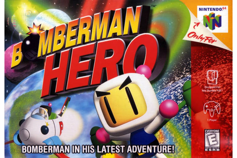 Bomberman Hero N64 | Video Games | Pinterest