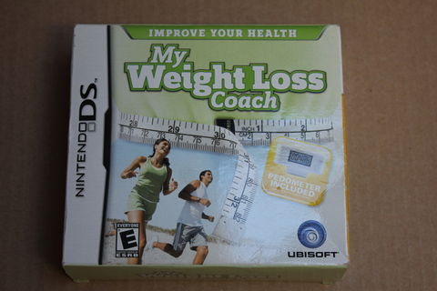 Free: USED My Weight Loss Coach game for Nintendo DS ...