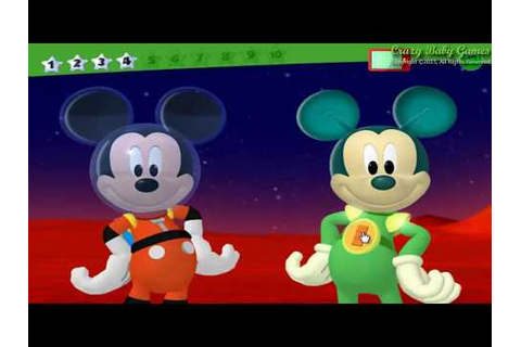 Mickey Mouse Clubhouse Space Adventure Treasure Hunt ...