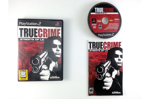 True Crimes Streets of LA game for Playstation 2 (Complete ...