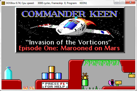 Commander Keen: invasion of the Vorticons - Download