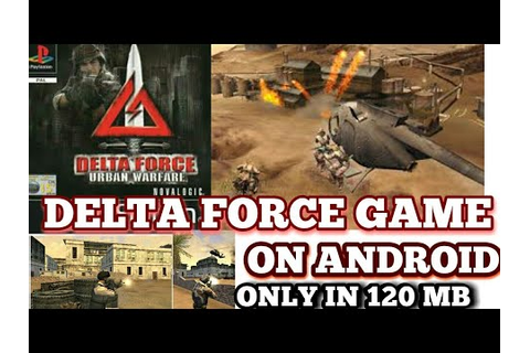 HOW TO DOWNLOAD PS1 GAME DELTA FORCE URBAN WARFARE GAME IN ...
