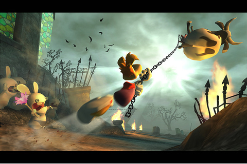 Rayman contre les Lapins Crétins - Nintendo Selects - WII ...