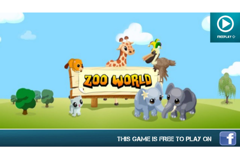 Zoo World - Facebook Games - HD Gameplay - YouTube