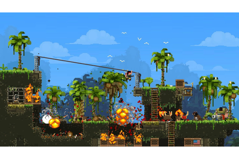 BroForce PS4 PAX EAST 2015 - YouTube