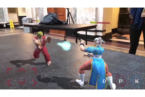 Street Fighter hits the actual streets in new ARKit demo ...