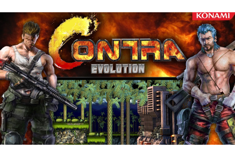 Contra Evolution Walkthrough HD - 2 Player Coop (PC) - YouTube