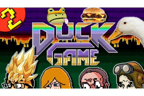 Duck Game Part 2 - 4 Player Free For All Local Multiplayer ...
