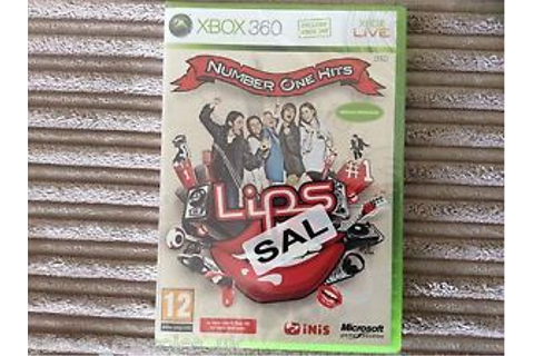 XBOX 360 LIPS NUMBER ONE HITS NEW & SEALED GAME 1! | eBay