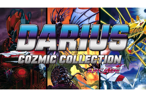 Darius Cozmic Collection Arcade And Darius Cozmic ...
