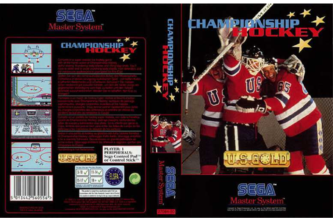 Championship Hockey | 80'S Top Games