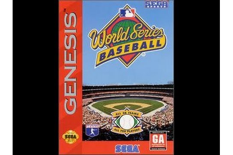 World Series Baseball (Sega Genesis) - YouTube