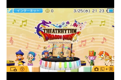 [Theatrhythm Dragon Quest] First Look - YouTube