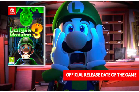 Luigi's Mansion 3 official release date of the game on ...