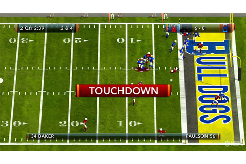 Tecmo Bowl Throwback Xbox Live Gameplay - Touchdown - YouTube
