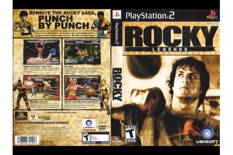 Rocky Legends - PS2 Playstation 2 Longplay [004] - YouTube