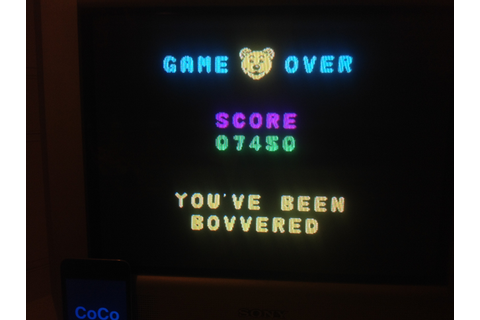 Bear Bovver [Big Bear Mode] (ZX Spectrum) high score by ...