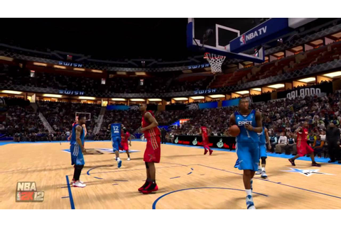 NBA 2K12 My Player - The All-Star Game - YouTube