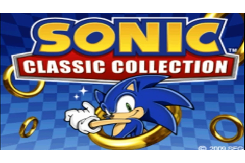 Sonic Classic Collection (Nintendo DS Gameplay) [HD] - YouTube