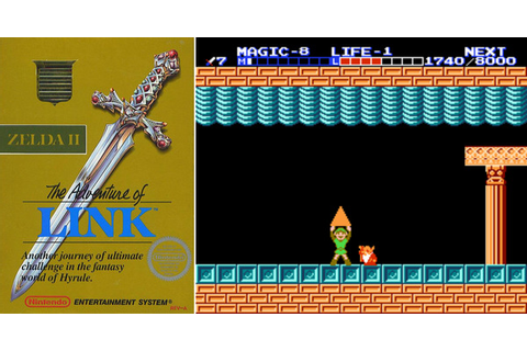 Play Zelda 2: The Adventure of Link on NES