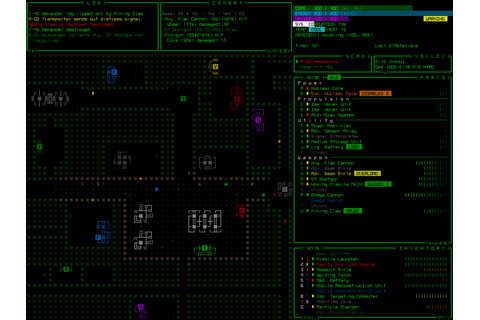 Roguelike Development with REXPaint - Cogmind / Grid Sage ...