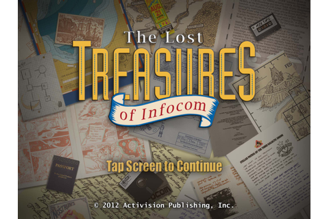 Lost Treasures of Infocom review (iOS / Universal ...