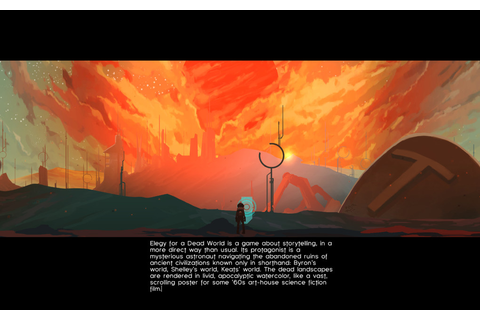 Elegy for a Dead World: I wrote this video game review ...