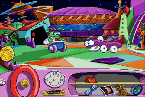 Putt-Putt Goes to the Moon - My Abandonware