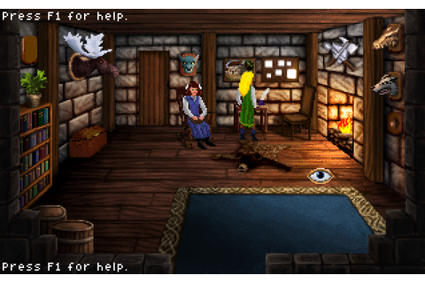 Heroine's Quest: a new free adventure game