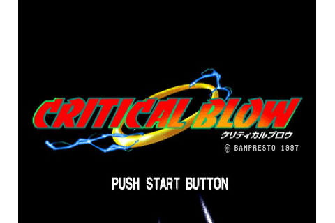 Critical Blow (1997) by Racdym PS game