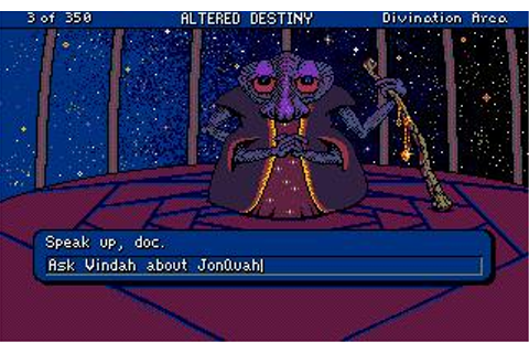 Altered Destiny Download (1990 Adventure Game)