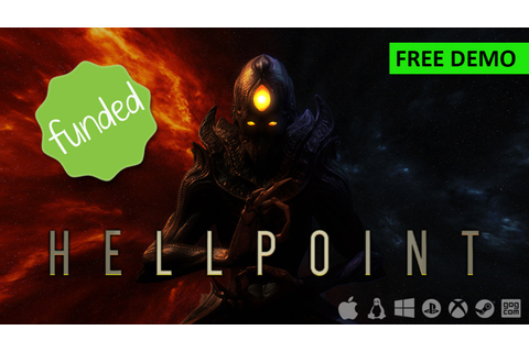 Hellpoint - A Dark Sci Fi RPG by Cradle Games —Kickstarter