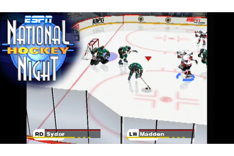 ESPN National Hockey Night ... (PS2) - YouTube