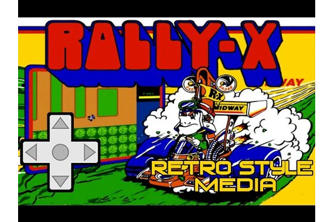 Rally X (Arcade) Game Play - YouTube