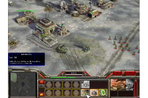 PC GAME Command & Conquer-Zero hour gameplay (part1) - YouTube