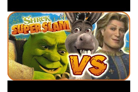 Shrek Super Slam Game Part 2 (Gamecube, PC, PS2, XBOX ...
