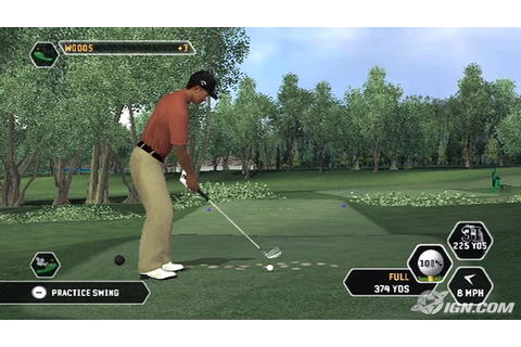 Wii version of Tiger Woods PGA TOUR 2008 - NeoGAF
