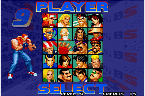 The Classics Games: Análise: Real Bout Fatal Fury Special ...