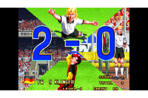 Neo-Geo Cup '98: The Road to the Victory (Arcade ...