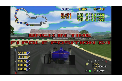 Back In Time N64: F1 Pole Position 64 - The Only 1996 ...