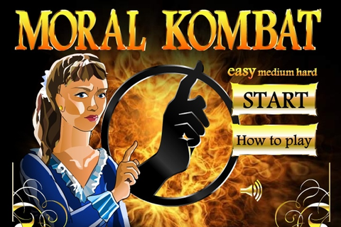 Moral Combat Slap Fight Game - Fighting games - Games Loon