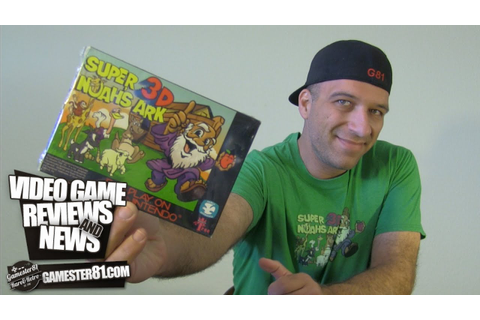 Rare Super Noah's Ark 3D Game for the SNES - Gamester81 ...