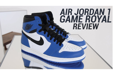 AIR JORDAN 1 GAME ROYAL REVIEW - YouTube