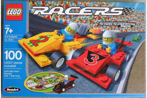 LEGO Racers Super Speedway Game | Board Game | BoardGameGeek