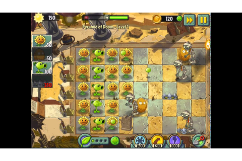 Plants vs Zombies 2 : It's About Time! - Pyramid of Doom ...