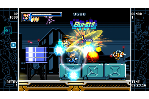 Mighty Gunvolt Burst for Switch launches June 15, for 3DS ...